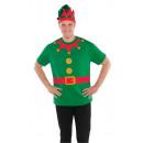 Koszula dla dorosłych Christmas Elf One size