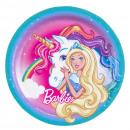 8 Tányér kerek ' Barbie - Dreamtopia', 23