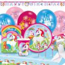 Partyset Unicorn 68 darab