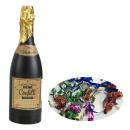 wholesale Thermos jugs: Confetti cannon bottle slide multicolored