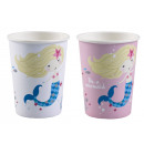 8 cups Be a Mermaid 250ml, assorted