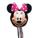 Pull Pinata Minnie Mouse