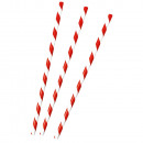 12 Paper Drinking Straws BBQ Party 19.7 cm