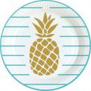 8 Teller Pineapple Vibes 23cm