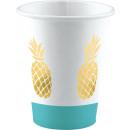 8 tazas de Pineapple Vibes 250ml