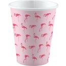 8 cups Flamingo Paradise 250ml