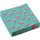 20 Servietten Flamingo Paradise 33x33cm