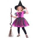 Gyermek jelmez szivárvány boszorkány 3-4 év