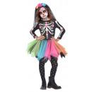 Gyermekruházat Mexikói Sugar Skull 6-8 év