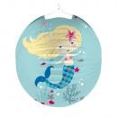 Lampion Be a Mermaid, 25 cm