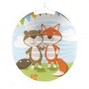 Lampion Fox & Bieber, 25 cm