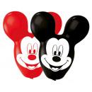 4 latex balloons Mickey Giant Ears 55.8cm / 22