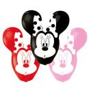 4 Latexballons Minnie Giant Ears 55,8cm/22'