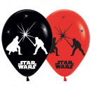 wholesale Toys: 5 latex balloons LED Star Wars 28 cm