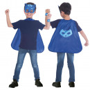 wholesale Childrens & Baby Clothing: Children's Cloak Set PJ Masks Catboy 4-8 years
