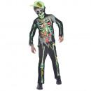 Children's Costume Toxic Zombie 10-12 years
