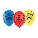 6 globos de latex Paw Patrol 23cm