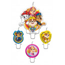 wholesale Accessories: 4 candles Paw Patrol 2018