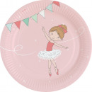 8 plate Little Dancer 23cm