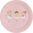 8 plate Little Dancer 18cm