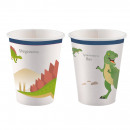 8 cups Happy Dinosaur 250ml