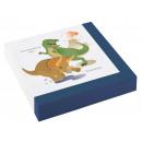 20 Servietten Happy Dinosaur 33x33cm