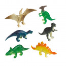 8 Mini Figures Happy Dinosaur