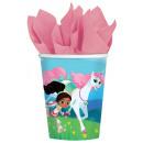 8 cups Nella The Princess Knight 250 ml