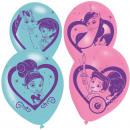 6 latex balloons Nella The Princess Knight 4-sided