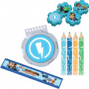 Stationery set Rusty Rivets 16 pieces
