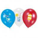 6 ballons en latex Summer Stories 27.5cm / 11 &#39