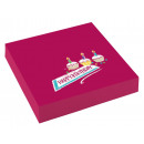20 napkins My Birthday Party 25x25cm