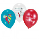 6 Latex Balloons My School Start 28cm / 11 '