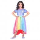 Child Costume Barbie Rainbow Bay 8-10 years