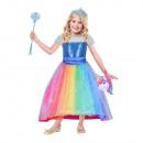 Kids Costume Barbie Luxury rainbow bay 3-5 years