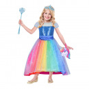Kids Costume Barbie Luxury rainbow bay 8-10 years
