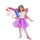 Child Costume Barbie Hobby Rainbow Unicorn 3-10