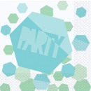 16 Servietten Shimmering Party 33 cm