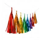1 szegélyes koszorú - Bright Rainbow