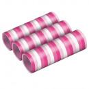 3 serpentyny - Hot Pink