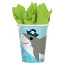 8 cups Ahoy Birthday 250 ml