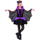 Child Costume Miss Battiness 6-8 years