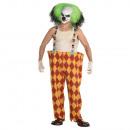 Men's Costume Sinister Clown Size M / L
