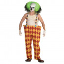 Men's costume Sinister clown size XXL