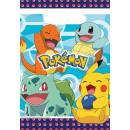 8 Partytüten Pokemon Plastik 23,4 x 16,2 cm