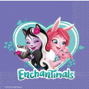 16 Servietten Enchantimals 33 cm