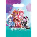 8 party táska Enchantimals műanyag