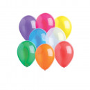 25 latex balloons Crystal assorted 27.5cm / 11 &#3