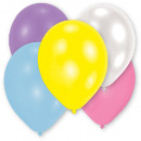 25 latex balloons Pearl assorted 12,7cm / 5 '