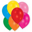 25 ballons en latex assorti métalliques 12,7cm / 5